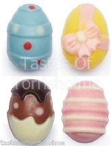Kitchen Craft Silicone Chocolate Hoppity Easter Mini Egg Assorted Shape Mould